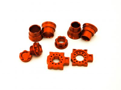 Wheel Bling Kit for 20 & 26mm axles